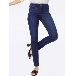 NYDJ Denim Zip Fly Leggings